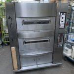 【厨房買取事例】久電舎 固定オーブン MC-FIRF2-2L画像