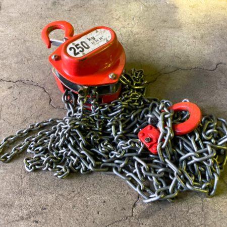 【工具の買取】 工具買取 部品の買取 チェーンブロック買取 スリーエッチ画像