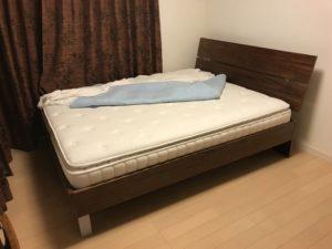 【生活雑貨買取】 ベッド買取事例